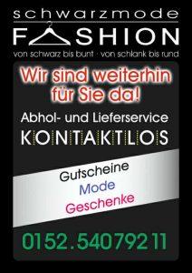 Schwarzmode Fashion Dormagen Abhol-Bringservice